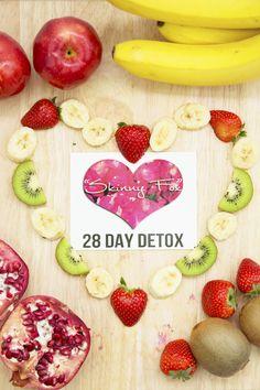 SkinnyFox Detox really burns off the calories!