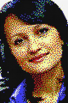Made of pins - Push Pin Art. Push Pin Art, One Pic, Art Projects, Portrait, Mosaics, Collages, Stained Glass, Collage, Headshot Photography