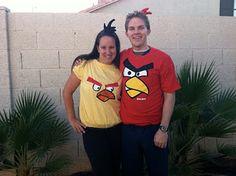 #Angrybirds Halloween costumes #DIY