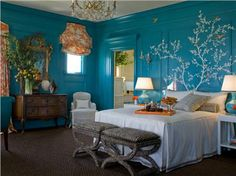 Transitional (eclectic) Bedroom By Kendall Wilkinson