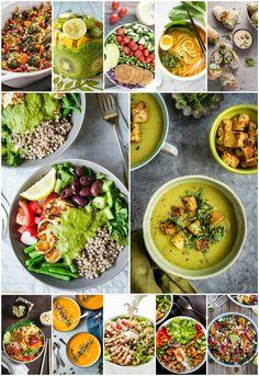 Easy healthy recipes, whole food recipes, healthy breakfast Good Healthy Recipes, Whole Food Recipes, Healthy Food, Veggie Recipes, Delicious Recipes, Healthy Man, Healthy Salads, Healthy Options, Easy Recipes