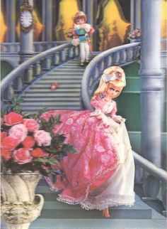 Cinderella lenticular postcard by Woof Nanny, via Flickr