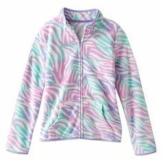 SO Animal Microfleece Jacket - Girls 7-16 $13.99
