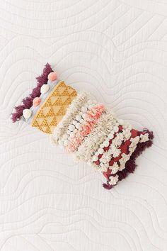 Maja Mixed Fringe Woven Bolster Pillow @urbanoutfitters #UOhome