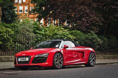 R8 Spider. Someday will** be mine..
