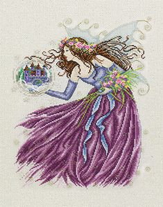 A beautiful design from (C) Joan Elliott - Stardust Fairy is specially to download at the DMC website