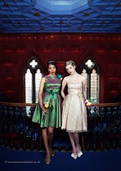 Dresses - we love the vintage stylings of Glasgow's Flossy & Dossy Xx Vintage Outfits, Vintage Fashion, Vintage Clothing, Mod Wedding, Wedding Attire, Fashion Dresses, Dee Dee, Retro, Glasgow