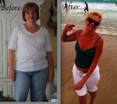 I LOVE her! Inspiring! Honest! Good!  Fit and Fabulous over Fifty: Before and After - 75 lbs weight loss http://makehealth.qjguo.com/