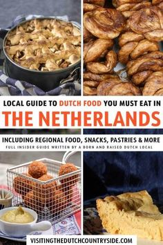 The Netherlands & Amsterdam has typical Dutch food / cuisine to try. From traditional Dutch dinner food to streetfood, authentic Dutch food, dishes & snacks Typical Dutch Food, Holland, Flat Cakes, Dutch Recipes, Foods To Eat, Foodie Travel, Snacks, Food Dishes, The Best