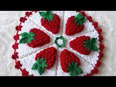 😍 HARİKA VE KOLAY! 🍓 Çilek Lif Modeli Yapımı - YouTube Woolen Craft, Raspberry, Strawberry, Flower Tutorial, Baby Knitting Patterns, Washing Clothes, My Design, Make It Yourself, Blanket