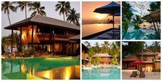 Anantara Rasananda Koh Phangan Villa Resort & Spa collage