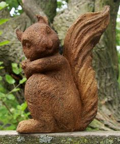 Another great find on #zulily! Sandstone Forest Squirrel Figurine #zulilyfinds