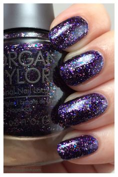 Sapphires, Rubies, and Emeralds Oh My by Morgan Taylor from The Royal Life Collection Glittery Nails, Fancy Nails, Creative Nail Designs, Creative Nails, Morgan Taylor, Royal Life, Great Nails, Beautiful Nail Art, Emeralds