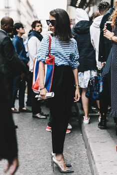 Balenciaga: a bag inspired by the traditional shopping bag from Thailand.