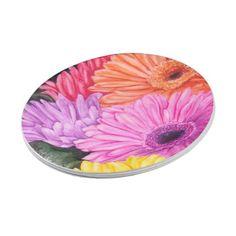 BRILLIANT GERBER FLOWERS PAPER PLATE  sc 1 st  Pinterest & Snail snail wine paper plate | Party Paper Plates | Pinterest ...