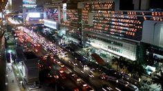 Bangkok Traffic Jam Time Lapse