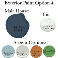 Home exterior colors blue hale navy 30 trendy Ideas Exterior Paint Colors For House, Paint Colors For Home, Exterior Colors, Exterior Design, Navy House Exterior, Paint Colours, Dark Blue Houses, Navy Houses, Navy Shutters