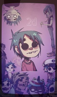 2d gorillaz wallpaper