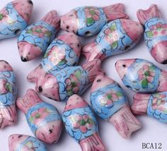 28x13mm Porcelain Charms Pink Fish Jewelry Necklaces Making Findings Beads http://www.eozy.com/28x13mm-porcelain-charms-pink-fish-jewelry-necklaces-making-findings-beads.html
