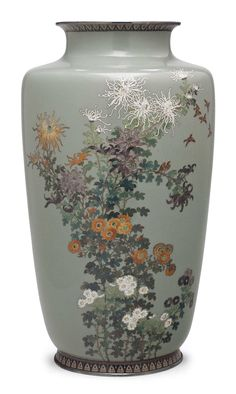 A cloisonné enamel vase Meiji Period late 19th Century. The Meiji period (明治時代 Meiji-jidai?), also known as the Meiji era, is a Japanese era which extended from September 8, 1868 through July 30, 1912.[1] This period represents the first half of the Empire of Japan during which Japanese society moved from being an isolated feudal society to its modern form.