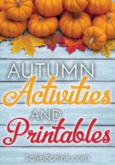 Check out this huge collection of autumn posts, activities and printables! It includes pumpkins, apples, fall, trees, leaves and more. Perfect for getting a big jump on your fall learning planning!