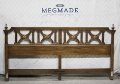 #2234-01895 #Customizable Transitional King #Headboard by MegMade,  View more on the LINK: http://www.zeppy.io/product/gb/3/272869654/