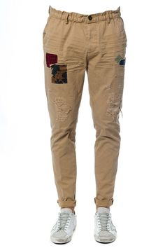DSQUARED2 DSQUARED2 HIKING PATCHWORK COTTON PANTS. #dsquared2 #cloth #