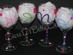 Girls Night Wine Glasses!