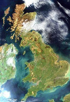 UK Satellite image