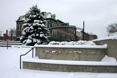 Schade-Mylander Plaza in downtown Sandusky, Ohio. Sandusky Ohio, Lake Erie, North Coast, New Perspective, Islands, Chill, Vacation, Winter, Life