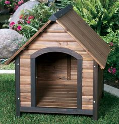dog houses to build yourself   Large and Small Insulated Dog House by Precision Pet - OUTBACK COUNTRY ...