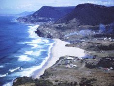 Scenic view of Bald Hill overlooking Stanwell Park. Photo by Sue Paton. Black White Photos, Black And White, South Coast Nsw, My Childhood Memories, Old Things, Park, History, Water, Outdoor
