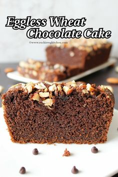 Condensed Milk Chocolate Cake Recipe, Best Eggless Chocolate Cake Recipe, Eggless Recipes, Eggless Baking, Best Chocolate Cake, Easy Cake Recipes, Chocolate Recipes, Dessert Recipes, Cooking Recipes