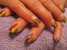 gel nail designs | Bio Sculpture Gel Nail Designs @Katerina Maslarova