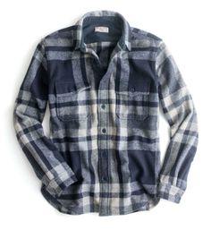 J.Crew Wallace & Barnes jacket in English wool.