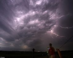 storm chasers death | Storm chaser: Photographer Brad Mack from Orange County, California ...