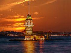 Bir İstanbul Masalı | KIZ KULESİ, İSTANBUL BOĞAZI (Istanbul … | Flickr