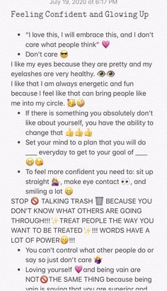 Teen Life Hacks, Life Hacks For School, Maquillage On Fleek, Morning Routine School, Self Care Bullet Journal, Self Confidence Tips, The Glow Up, Healthy Skin Tips, Beauty Tips For Glowing Skin