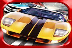 Conquiste rua e do céu em 3D Racing Turbo, um mix de condução octanagem alta e corrida sem fim