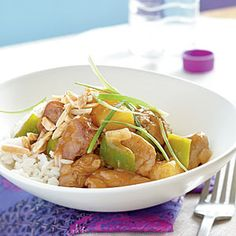 Superfast Comfort-Food Recipes | Spicy Sweet-and-Sour Pork | CookingLight.com