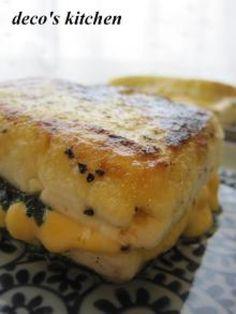 お豆腐しそチーズサンドステーキ