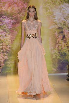 Défile Zuhair Murad Haute couture Printemps-été 2014 - Look 33
