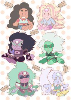 Fusions as plush toys.
