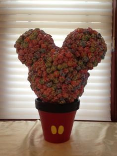 Mickey Mouse Lollipop Topiary by 3kidsideas on Etsy