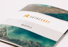 Urthecast brochures #brochures #vancouver #cmyk #print #printing #digitalprinting