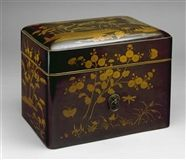 Anonymous: NOH THEATER MASK BOX (1983.38) — The Detroit Institute of Arts