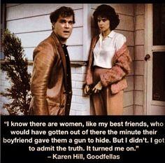 Ray Liotta and Lorraine Bracco in Goodfellas, 1990 Goodfellas Quotes, Goodfellas Movie, Ray Liotta Goodfellas, Movies Showing, Movies And Tv Shows, Movie Stars, Movie Tv, Don Corleone, Gangster Movies