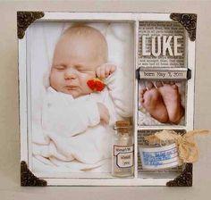 23 Birth Shadow Box Ideasadorable Ideas #Family #Trusper #Tip