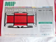 The Evacuation sheet is made form Transtex fabric and has been designed to remain underneath the mattress, ready for rapid evacuation of patients or residents. In the event of soiling the evacuation sheet can easily be removed for laundering. Emergency Hospital, Fabric Softener, Fire, Ebay