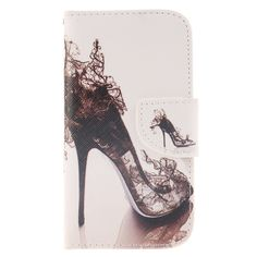 Fashion Printed Flip Leather Case Wallet Cover For Samsung Galaxy S3 Duos I9300i I9301 I9300 Stand Case